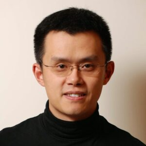 Fotografía del CEO de Binance (Changpeng Zhao)