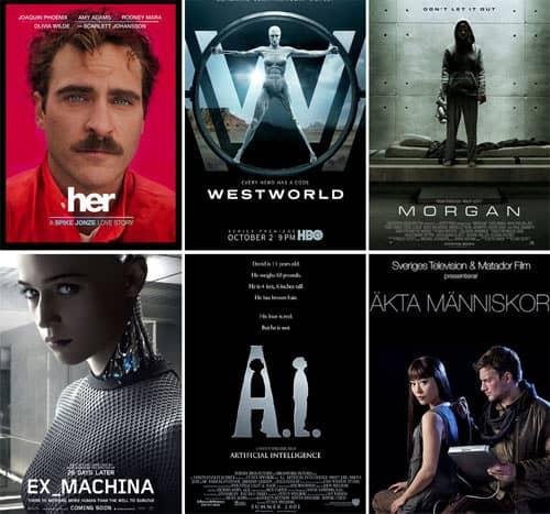 Las mejores películas sobre Inteligencia Artificial